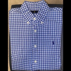 Ralph Lauren | Short Sleeve Dress Shirt | Size M